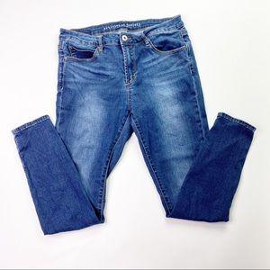 Articles of Society Skinny Jeans 30 Blue Denim